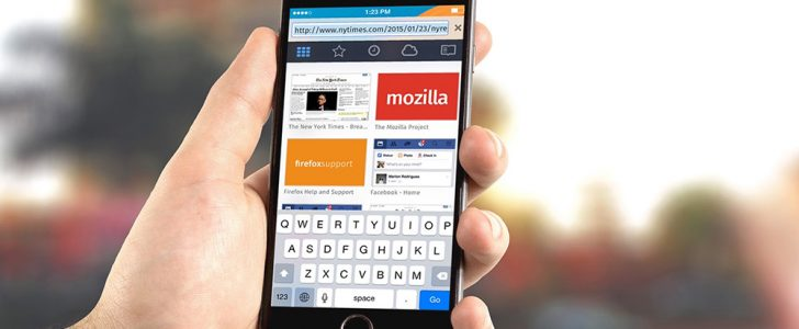 موزيلا تُصدر متصفحها فايرفوكس لهواتف ios