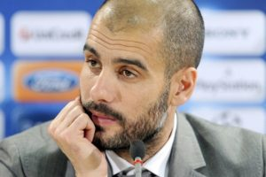 جوسيب جوارديولا  لا يتواجد بقائمة المرشحين لتدريب الفريق الملكي