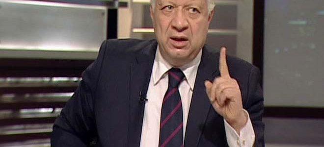 رئيس فريق الزمالك يهدد من الانسحاب من مسابقة الدوري المصري لكرة القدم