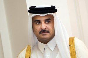 مباحثات حول الأزمة السورية والعلاقات بين أمير قطر وبوتين في موسكو