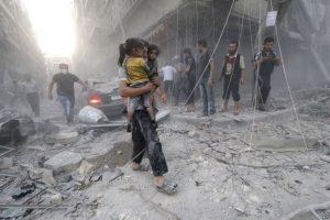 مقتل وإصابة العشرات في قصف روسي على حلب