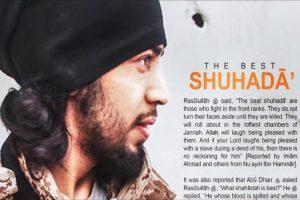 """مجلة دابق تكشف عن هوية """" جون الجهادي """" وصوره"""