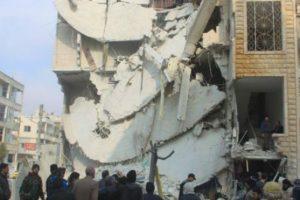 الطيران الروسي والسوري يكثفان الغارات على كل من حلب وإدلب