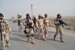 القوات العراقية تتمكن من السيطرة على قرية عوسجة