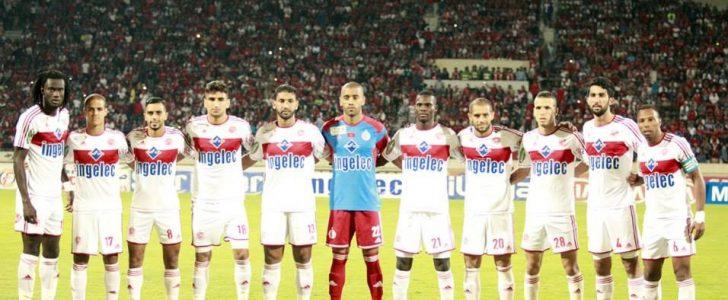 نادي الوداد الرياضي يصل إلى العاصمة المصرية إستعدادا لمباراة الأهلي