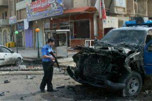 قتلى وجرحى من القوات العراقية بعد تفجير سيارتين مفخختين في الرطبة