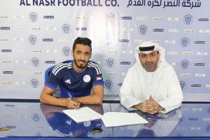 نادي النصر الإماراتي يفوز بخدمات فواز عوانة لمدة سنتين