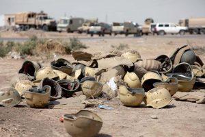 قتلى وجرحى من الجيش العراقي وتنظيم الدولة في الموصل والأنبار