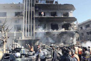 جرحى في كفر سوسة بعد إنفجار سيارة ملغومة في دمشق