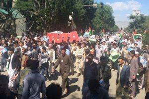 مقتل وجرح العشرات بعد إستهداف مظاهرة إحتجاجية للهزارة في كابل