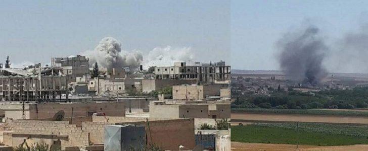 عشرات القتلى والجرحى في مدينة منبج وريفها وحلب تحت القصف