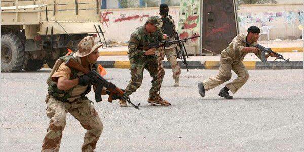 قتلى من تنظيم الدولة والجيش العراقي في مواجهات كركوك والرمادي