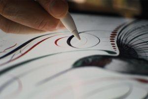 براءة إختراع جديدة وميزات حديثة لقلم آبل Apple Pencil