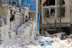 المقاتلات الروسية تواصل قصفها لأحياء عديدة من مدينة حلب