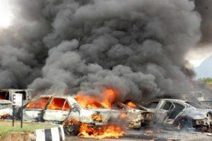 عشرات القتلى والجرحى من قوات حفتر بعد إنفجار سيارة مفخخة في بنغازي