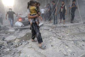 قتلى وجرحى في تواصل الغارات الجوية على ريف دمشق وإدلب وريفها