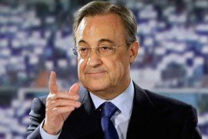 رئيس ريال مدريد يعبر عن رضاه عن التشكيلة الحالية للنادي