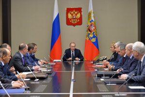 إجتماع إستثنائي لمجلس الأمن الروسي حول الوضع في القرم