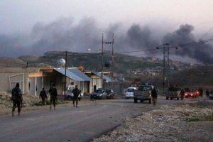 قوات البشمركة تتعرض لهجوم في بلدة سنجار من طرف تنظيم الدولة الإسلامية
