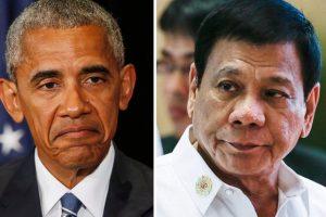 """بعد وصفه بـ """" إبن العاهرة """" .. أوباما يلتقي الرئيس الفلبيني"""