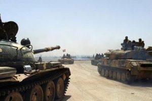 الجيش السوري تمكن من السيطرة على عدة مواقع في منطقة الراموسة