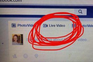 فيس بوك : طرح ميزة الفيديو المباشر للحواسيب المحمولة والمكتبية