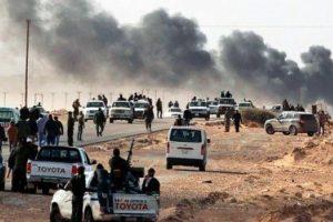 ليبيا : إعادة السيطرة على الهلال النفطي من طرف قوات حفتر