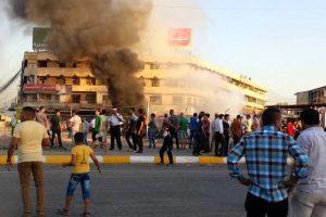 العراق : سلسلة من التفجيرات تهز المناطق التجارية في بغداد