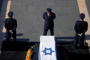 جنازة إسرائيلية لشمعون بيريز وسط حضور عربي مكثف