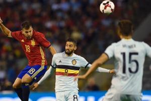جوردي ألبا يشيد بمستوى المنتخب الأسباني في مباراة بلجيكا