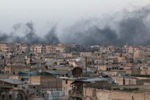إستهداف المرافق الحيوية في حلب وريفها ومديرية التربية تعلق الدراسة