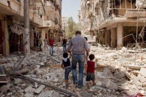 الطيران الحربي السوري والروسي يواصل القصف لليوم السادس على التوالي