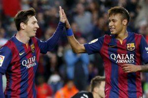 نجما برشلونة ميسي ونيمار تحت رادار إدارة نادي مانشستر سيتي