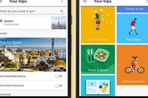 Google Trips : تطبيق ذكي للرحلات مقدم من شركة جوجل