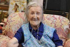إيما مورانو .. أكبر معمرة في العالم تقطن في إيطاليا وتبلغ 116 عاما !