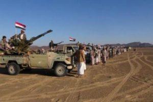 اليمن : تقدم الجيش الوطني مدعوما بالمقاومة الشعبية في محافظة الجوف