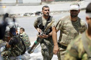 رفض مسلحي المعارضة السورية الخروج من مدينة حلب والتعهد بالقتال