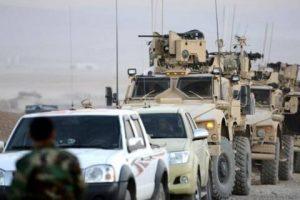 القوت العراقية والبشمركة يسيطران على نحو 200 كيلومترا بدعم من التحالف