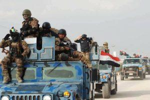 إستعدادات عسكرية للتقدم نحو مدينة حمام العليل جنوب الموصل