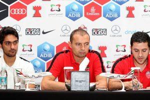 مساعد مدرب نادي الأهلي يدعو لاعبي فريقه للحذر من بني ياس