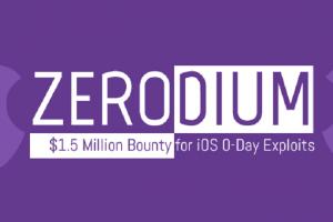 شركة Zerodium تعلن عن برنامج المكافآت الجديد حول ثغرات iOS 10