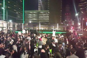 إستمرار الإحتجاجات في الولايات المتحدة وتمددها نحو مناطق أخرى