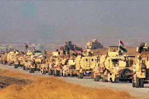توغل القوات الكردية في بلدة بعشيقة والسيطرة على أجزاء واسعة منها