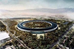 """""""حرم آبل السفينة الفضائية"""" : مقر شركة آبل الجديد في العام القادم 2017"""