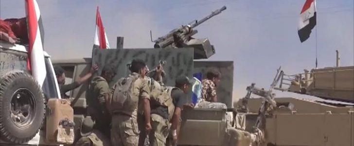 قتال شوارع يدور شرق مدينة الموصل بين القوات العراقية وتنظيم الدولة