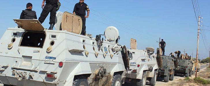 شمال سيناء : مقتل مجند وإصابة خمسة آخرين في هجومين منفصلين