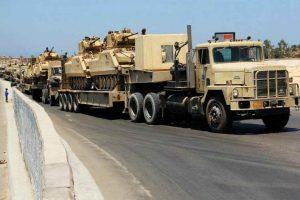 الجيش المصري يشن حملة واسعة في شمال سيناء ونزوح جماعي في المقابل