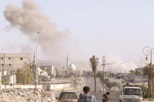 قتلى وجرحى من المدنيين في قصف للتحالف على قرية الهيشة شمال الرقة
