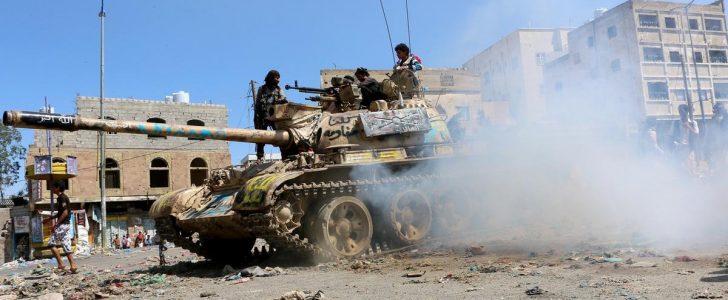 مقتل 13 مسلحا من قوات الحوثي وصالح وأربعة عناصر من الجيش اليمني