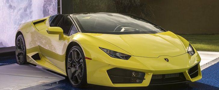الكشف عن سيارة هوراكان سبايدر 2017 نسخة الدفع الخلفي للعجلات